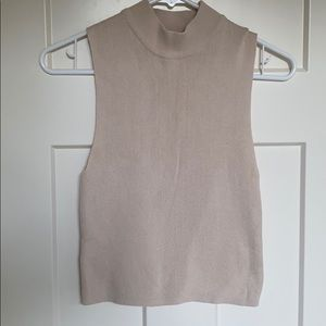 Forever 21 Tan Sweater Tank